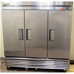 True 3-Section Freezer Model T72F Retail $6,575