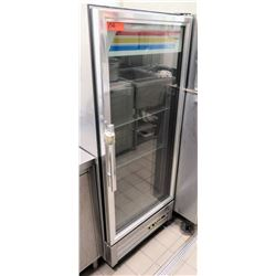 True T-12G-LD Glass Door Reach-In Refrigerator