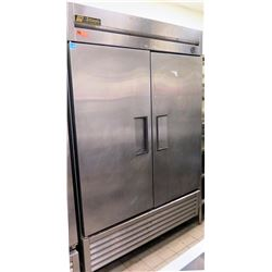 True 2-Section Solid Door Refrigerator Model T-49