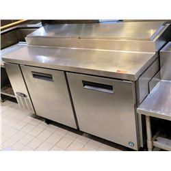 Hoshizaki CPT67 Salad Prep Station w/ Refrigerated Cabinet