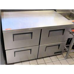 True 4-Drawer Undercounter Refrigerator Model TUC-48D-4-LP-HC