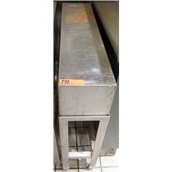 """Narrow Stainless Steel Divider 8""""x34""""31.5""""H"""