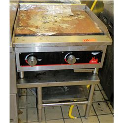 """Vollrath Cayenne Countertop Grill Griddle 24""""x24""""x33""""H"""