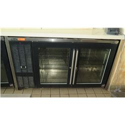 Perlick BBS60  Back Bar Glass-Door Refrigerator