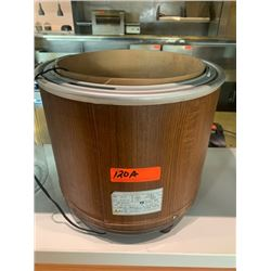 Rice Warmer w/ Wooden Middle, Model NK-30