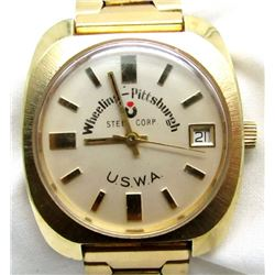WHEELING-PITTSBURGH STEEL WALTHAM WATCH