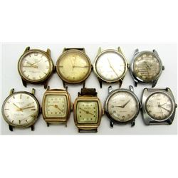 MENS VINTAGE WATCH LOT KELTON TORINO TIMEX