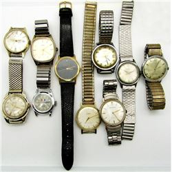 MENS VINTAGE WATCHES CLINTON ACQUA TIMEX