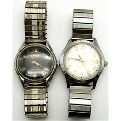 2 VINTAGE BENRUS SELF WINDING WATCHES - RUN!
