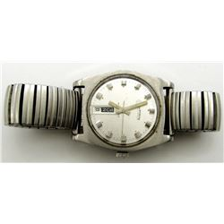 VINTAGE DUFANTE AUTOMATIC WATCH 17J RUNS!
