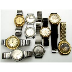 VINTAGE TIMEX AUTOMATIC & MECHANICAL LOT