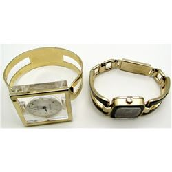 2-LADIES 17 J FASHION WRIST WATCHES