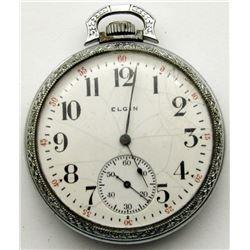 ANTIQUE 1911 ELGIN POCKET WATCH! RUNS!