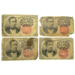 4-1874 10c FRACTIONAL NOTES