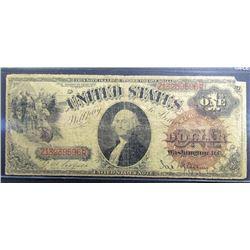 1880 $1 LEGAL TENDER U.S. NOTE