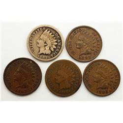1862, 1866, 1892, 1903, 1907
