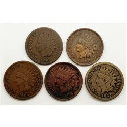 1863, 1865, 1876, 1905, 1908