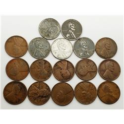 LINCOLN WHEAT CENT LOT BETTER DATES