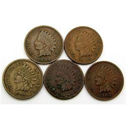 1859, 1874, 1899, 1903, 1907
