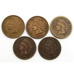 1860, 1871, 1898, 1907, 1909