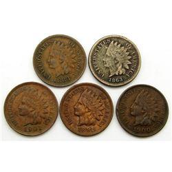 1863, 1883, 1898, 1900, 1901