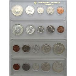 4-1964 YEAR SETS w/90% SILVER COINS