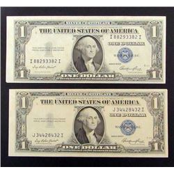 2-1935E $1 SILVER CERTIFICATES
