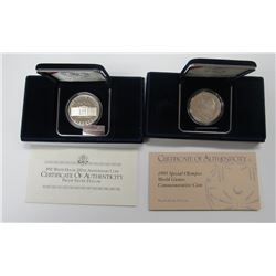 1995 SPECIAL OLYMPICS PROOF SILVER DOLLAR,