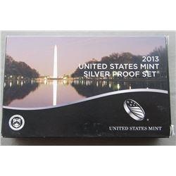 2013 U.S. SILVER PROOF SET