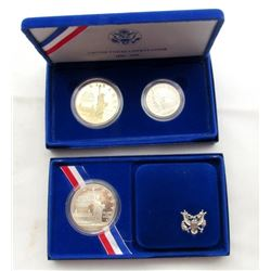 1986 STATUE OF LIBERTY PROOF SILVER DOLLAR