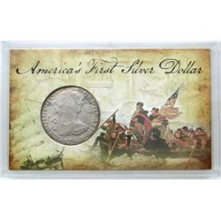 AMERICA'S FIRST SILVER DOLLAR 1783.