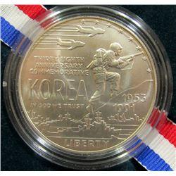 1991 KOREAN WAR MEMORIAL UNC