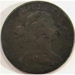 1802 Draped Bust Large Cent AG