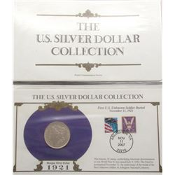 THE US SILVER DOLLAR COLLECTION (TOTAL 5)
