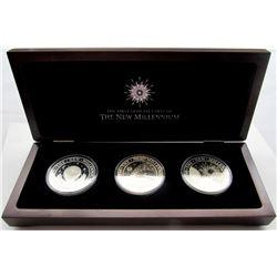 1999-2000 Kirabati First Coins of New Millennium