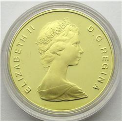 1986 $100 CANADA GOLD PROOF 22 KARAT