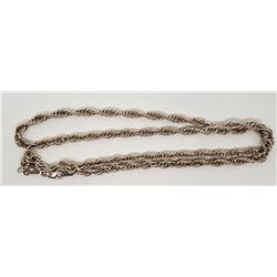 24 INCH ITALY STERLING NECKLACE/CHAIN