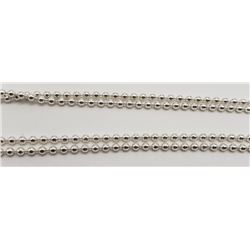 28 INCH ITALY STERLING NECKALCE/CHAIN
