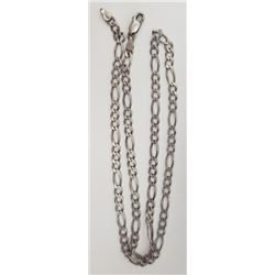 20 INCH STERLING MENS LINKED NECKLACE/CHAIN