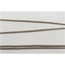32 INCH LONG STERLING NECKLACE/CHAIN