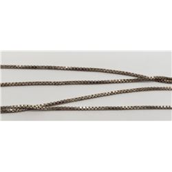 24 INCH LONG STERLING NECKLACE/CHAIN