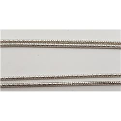 28 INCH STERLING NECKLACE/CHAIN