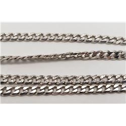22 INCH STERLING MEN'S NECKLACE/CHAIN