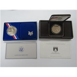 1986 STATUE of LIBERTY PROOF SILVER DOLLAR,