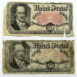 2-1875 50c FRACTIONAL NOTES