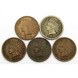 1863, 1881, 1899, 1907, 1908