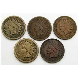 1860, 1863, 1871, 1901, 1908