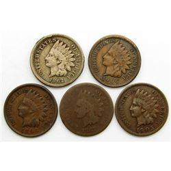 1862, 1867, 1895, 1905, 1906