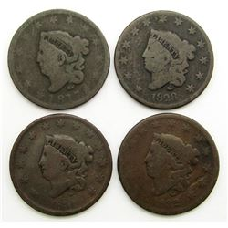 1817, 1828, 1831, 1832 Large Cents CIRC's