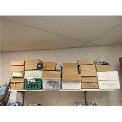 LOT OF 23 BOXES OF ASSORTED USED AND DAMAGED GLASSES